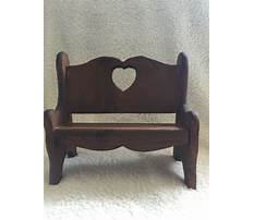 Decorative wooden benches Video
