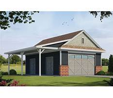Detached garage plans with covered porch Video