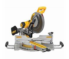 Dewalt sliding miter Video