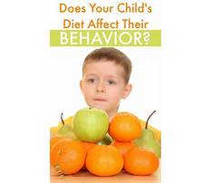 Diets for aggression in autistic Video