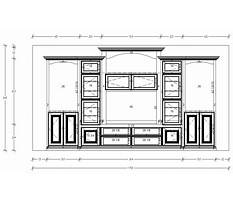 Dimensions of entertainment center Video