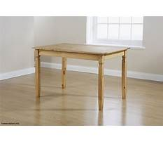 Dining table woodworking plans Video