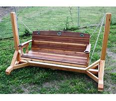 Directions for building a porch swing Video
