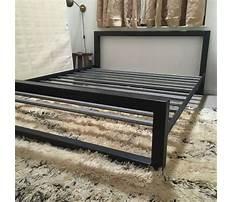 Diy bed frame metal Video