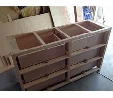 Diy bedroom dresser plans Video