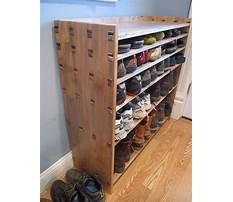 Diy behind the door shoe rack Video