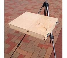 Diy bench easel.aspx Video
