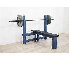 Diy bench press Video