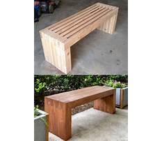 Diy bench seat Video