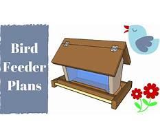 Diy bird feeder plans.aspx Video