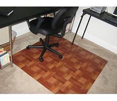 Diy chair mat for hardwood floor Video