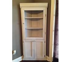 Diy corner hutch cabinet Video
