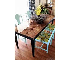 Diy dining table plans Video