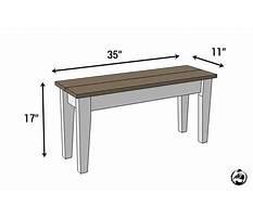 Diy entryway bench plans.aspx Video