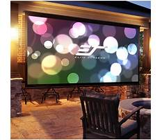 Diy folding projector screen Video