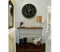 Diy foyer table.aspx Video