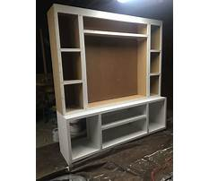 Diy free plans for entertainment center Video