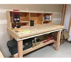 Diy garage workbench Video