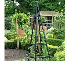 Diy garden obelisks pyramids Video
