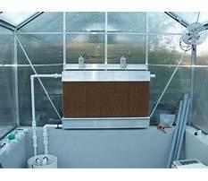 Diy greenhouse evaporative cooler Video