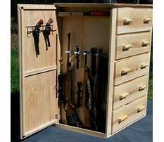 Diy gun safe shelves Video