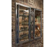 Diy homemade steel gun cabinet Video