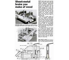 Diy metal brake plans.aspx Video