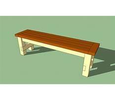 Diy outdoor bench seat plans Video