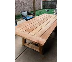 Diy outdoor table ideas.aspx Video