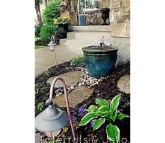 Diy outdoor water features.aspx Video