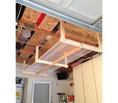 Diy overhead garage storage solutions Video