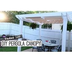 Diy pergola canopy easy outdoor diy lynette yoder Video