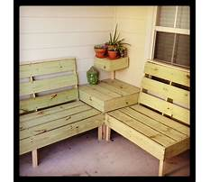 Diy projects wooden porch chair Video