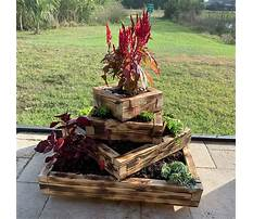 Diy stacked planter boxes Video