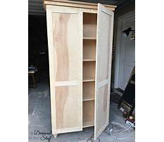Diy storage cabinets with doors plans Video