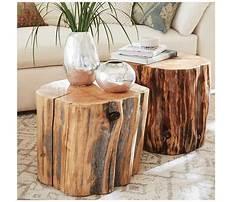 Diy tree stump coffee table.aspx Video