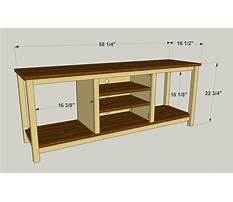 Diy tv stand how to build a tv stand simple wood projects Video