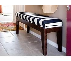 Diy upholstered bench.aspx Video