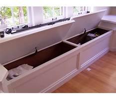 Diy window seat toy box Video