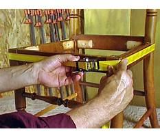 Diy wood furniture repair and gluing Video