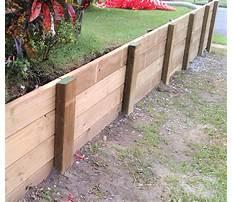 Diy wood retaining wall.aspx Video