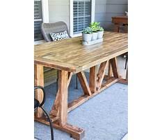 Diy wooden outdoor table.aspx Video