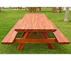 Diy wooden picnic table plans Video