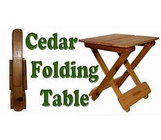 Diy woodworking how to make a folding table Video