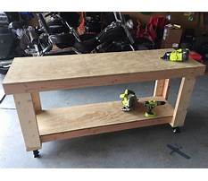 Diy workbench plans garage Video