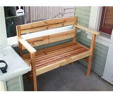 Do it yourself build a bench Video