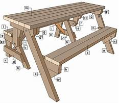 Do it yourself folding picnic table bench plans Video