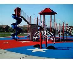 Do it yourself playground surfaces Video