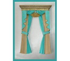 Dollhouse curtain patterns Video