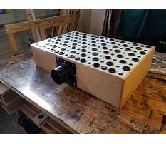 Downdraft table woodworking Video